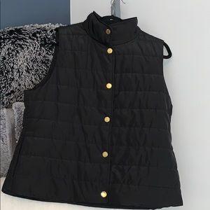 Michael Kors Black Puff Vest